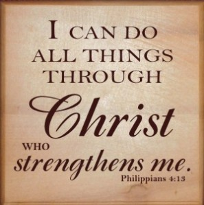 i can do all things through christ icon